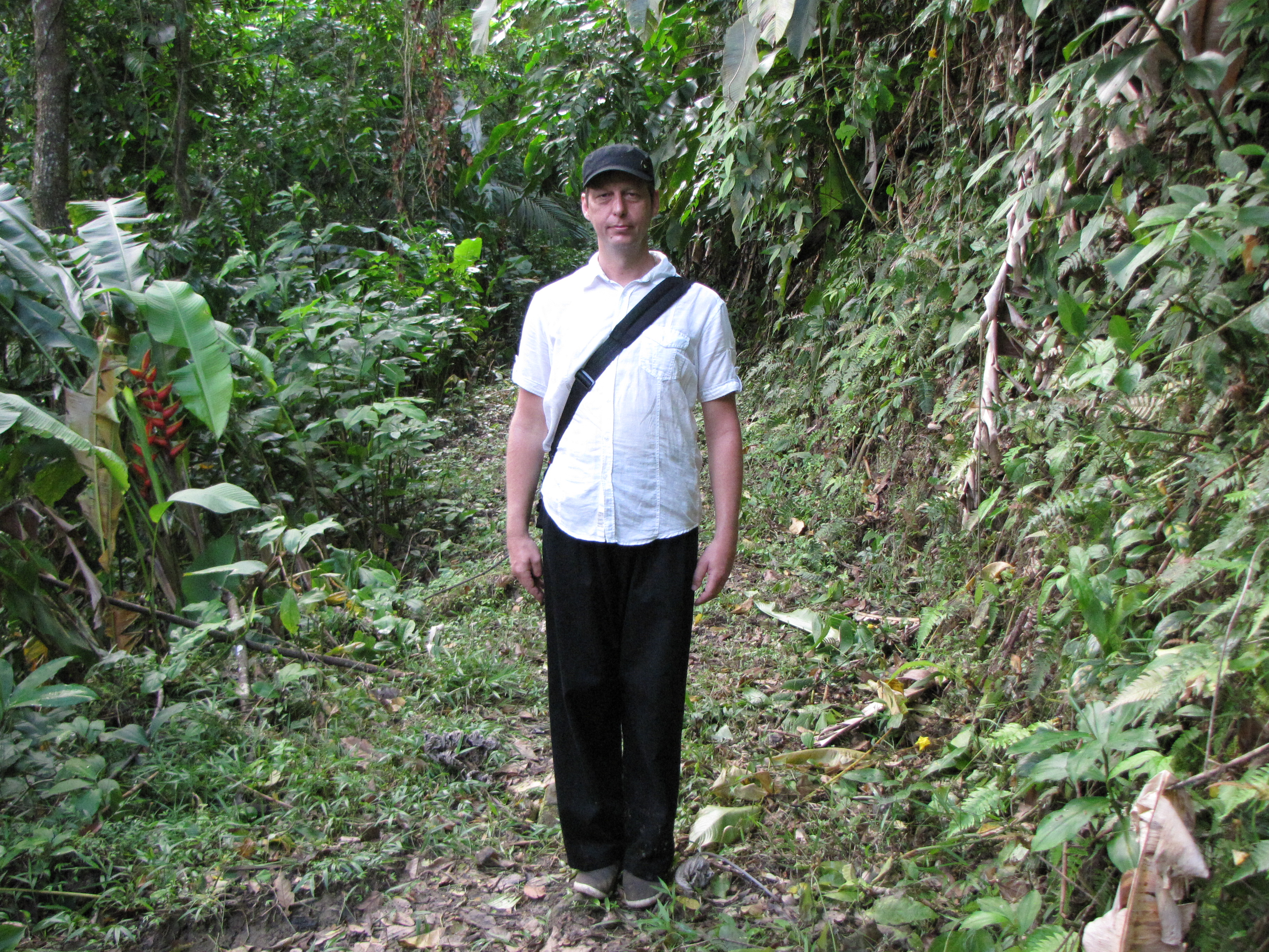 Me impressed about the jungle